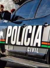 Policiais civis da Delegacia Metropolitana de Horizonte prendem suspeito de tentativa de feminicídio