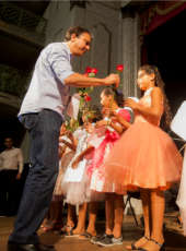 Governador Camilo Santana participou de celebração no Theatro José de Alencar