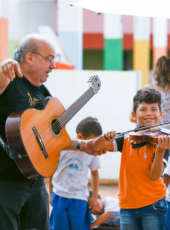 Gereba In Concert: jovens da comunidade do Gereba assistirão espetáculo exclusivo no Theatro José de Alencar