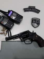 Força Tática frustra ação criminosa na AIS 3, apreende arma de fogo e recupera veículo roubado