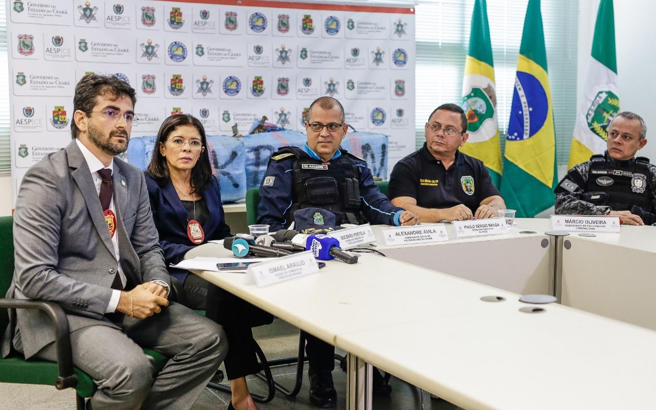 Quase duas toneladas de haxixe são apreendidas, e Polícia Militar frustra esquema criminoso internacional