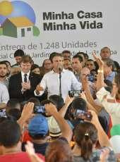 Com bases fixas da Polícia Militar, novas unidades do Residencial Cidade Jardim II são entregues