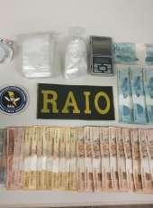 Casal suspeito de tráfico de drogas em Jijoca é capturado por equipes do Raio