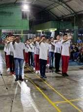 Corpo de Bombeiros realiza conclusão do curso Jovem Brigadista de Valor