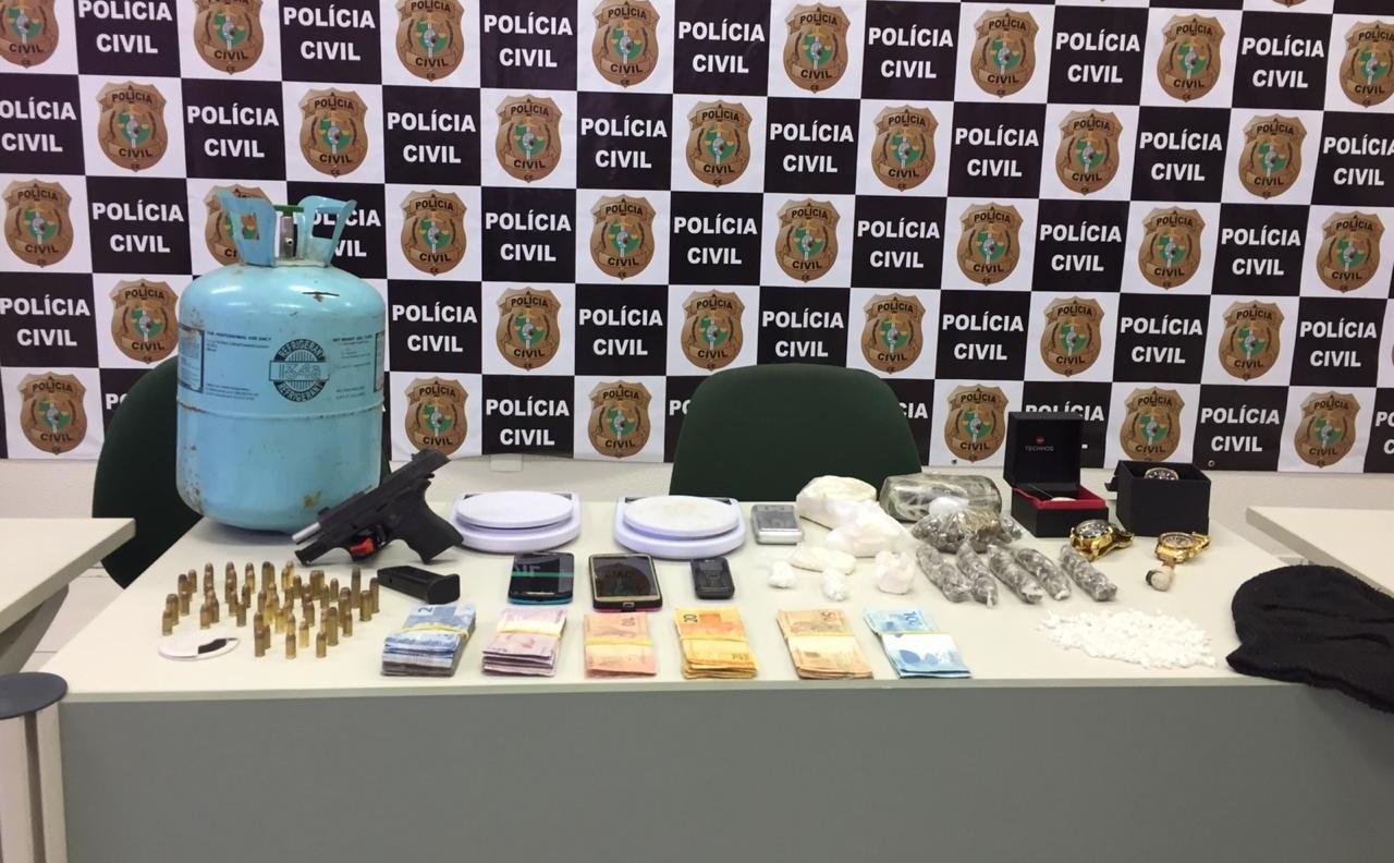 Dupla investigada por homicídio de adolescente é presa pelo DHPP da Polícia Civil do Ceará