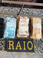 Dupla é presa com drogas e mais de R$ 3 mil em ação do CPRaio da PMCE em São Benedito