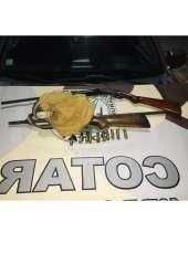 Homem suspeito de homicídio é preso com armas em Massapê