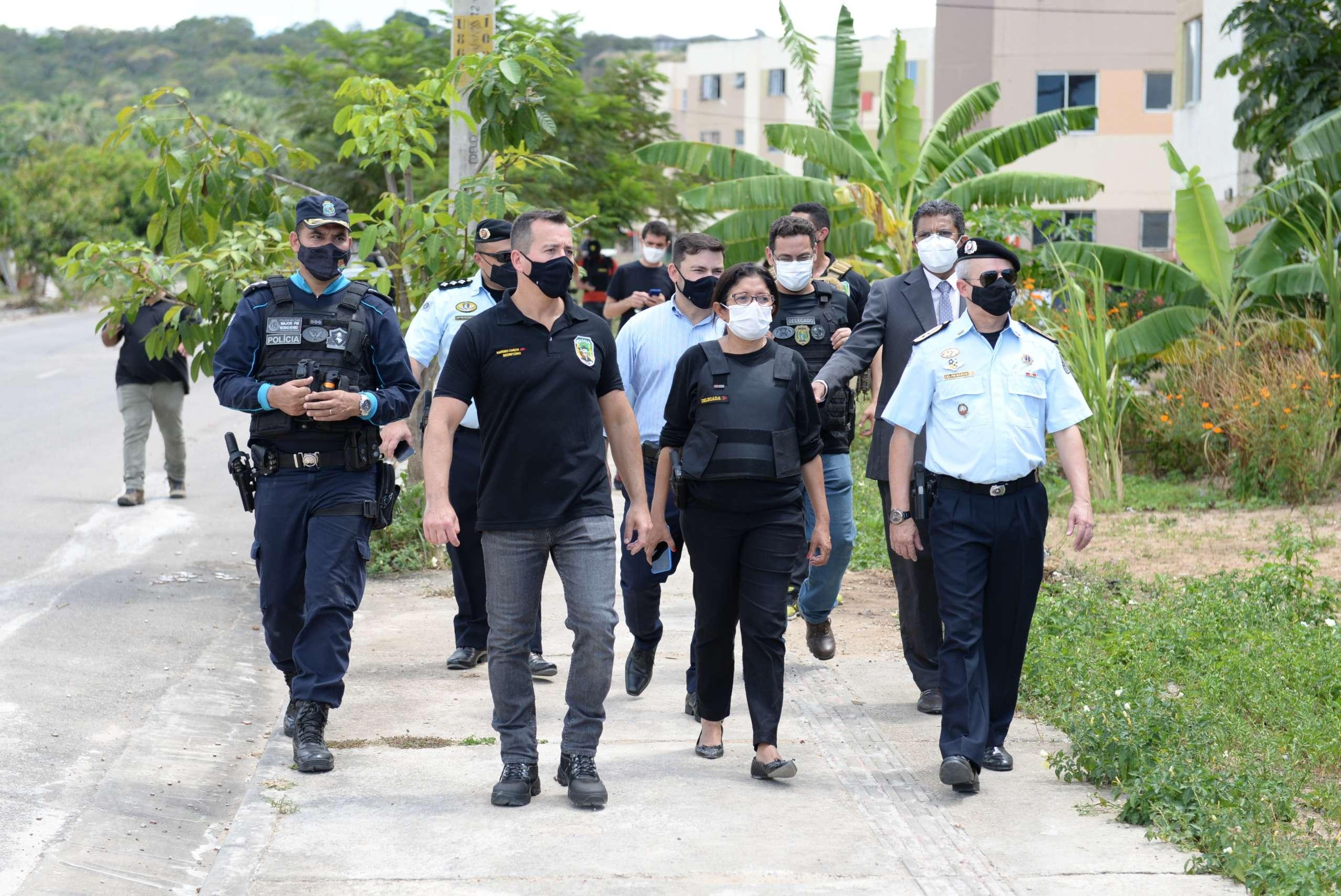 Operação Domus: seis pessoas são capturadas na sexta edição de ofensiva coordenada pela SSPDS em conjuntos habitacionais