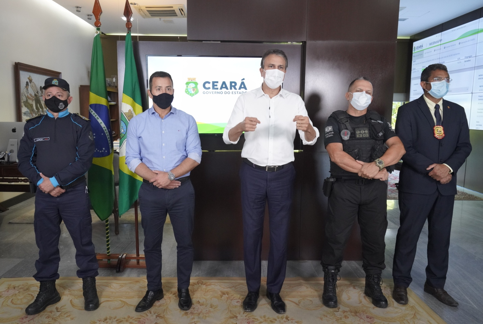 Governo do Ceará terá investimento extra de R$ 120 milhões na Segurança Pública e posse de 247 novos oficiais da PM em outubro