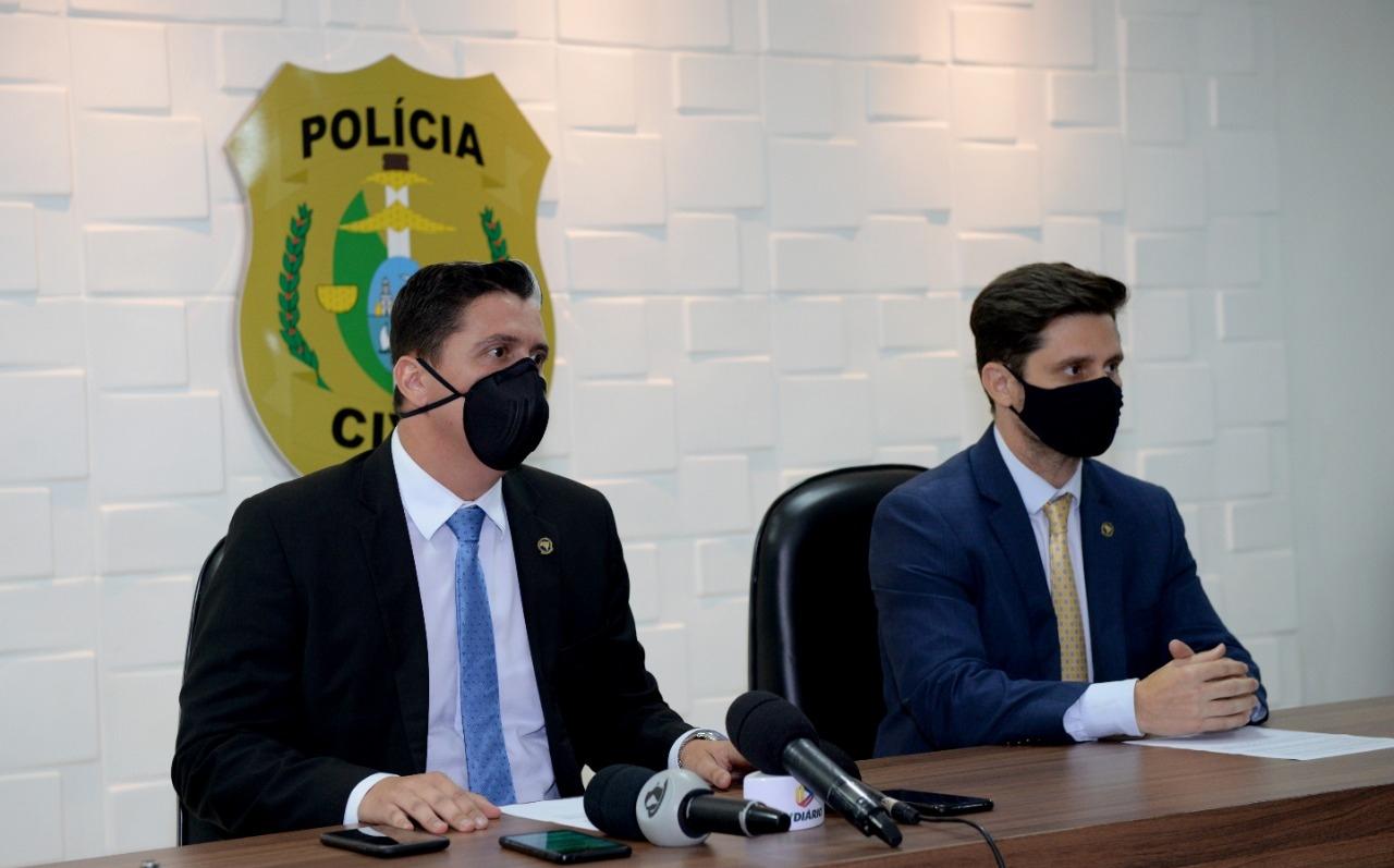Polícia Civil transfere do Maranhão para o Ceará integrante de organização criminosa