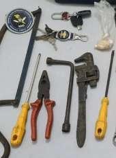 CPRaio da PMCE prende trio suspeito de furtar cabos da rede elétrica em Aracati