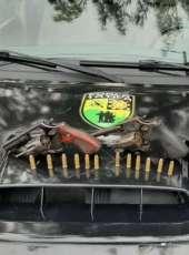 Duas armas de fogo são apreendidas durante incursão tática do BPTur na Praia do Futuro