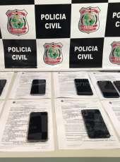 Ações da Polícia Civil resultam na recuperação de celulares em Pacajus
